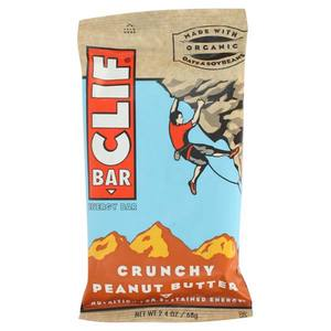 CLIF BAR AND CO CLIF BAR CRUCHY PEANUT BUTTER