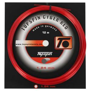 TOPSPIN CYBER RED 1.24 TENNIS STRING