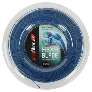 POLYFIBRE HEXABLADE 1.25/16G REEL TENNIS STRING