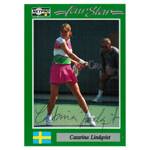 NETPRO CATARINA LINDQVIST SIGNED WOMENS