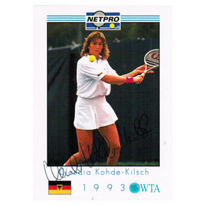 Claudia Kohde-Kilsch Signed  Women