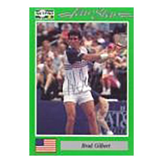 Brad Gilbert Signed Men's Card