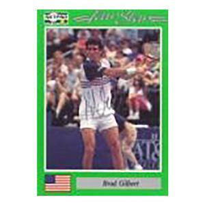 Brad Gilbert Signed  Men`s Card