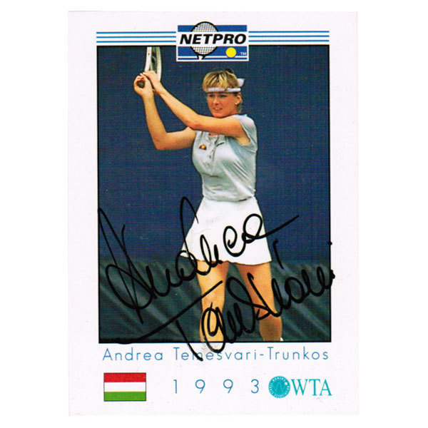 Andrea Temesvari Signed Women's