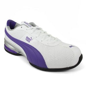 PUMA WOMENS CELL TURIN PERFORATED SHOES