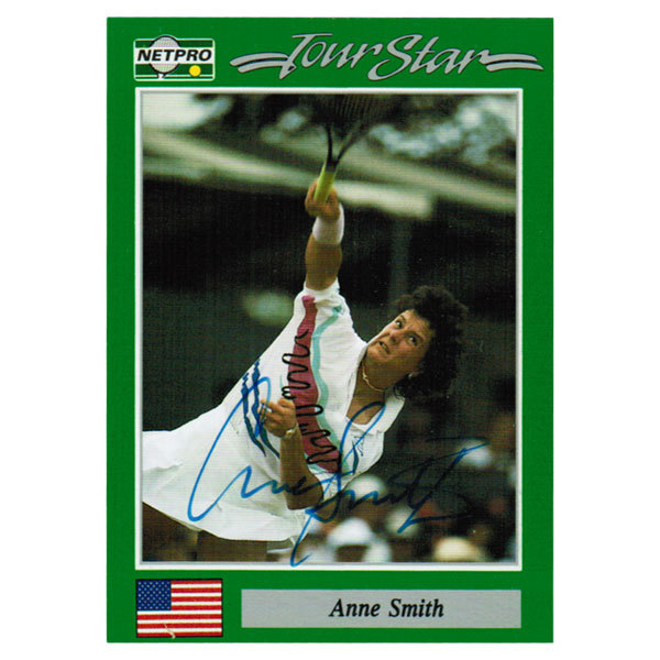 Anne Smith Signed Women's Card