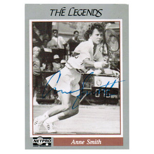 NETPRO ANNE SMITH SIGNED LEGENDS CARD