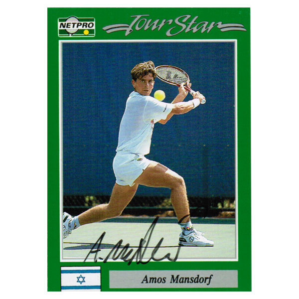 Amos Mansdorf Signed Men's Card