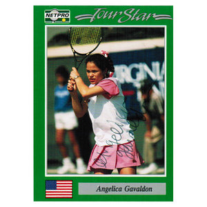 NETPRO ANGELICA GALVADON SIGNED WOMENS