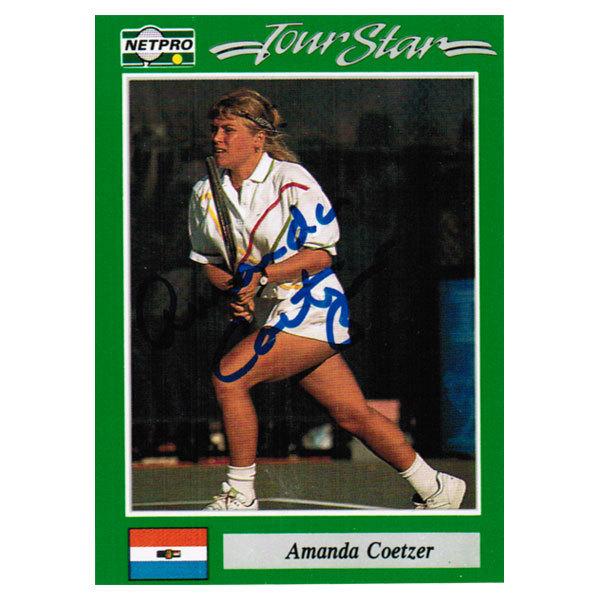 Amanda Coetzer Signed Women's