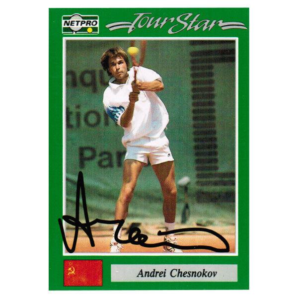 Andrei Chesnokov Signed Men's