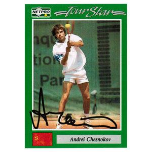 Andrei Chesnokov Signed  Men`s