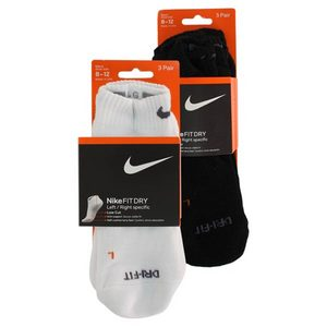 NIKE 3 PK DRI FIT HALF CUSHION LARGE LOW CUT