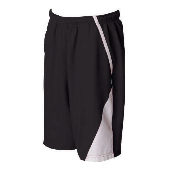 Men's Page Tennis Shorts White Black
