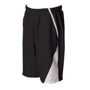 SPORTS SOURCE Men`s Page Tennis Shorts White Black