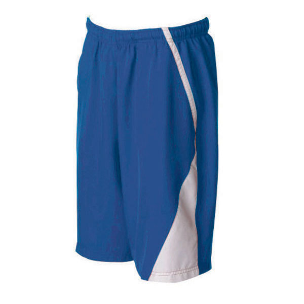 Men's Page Tennis Shorts White Royal