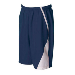 Men`s Page Tennis Shorts White Navy