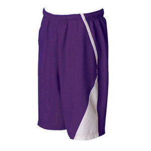 Men`s Page Tennis Shorts White Purple