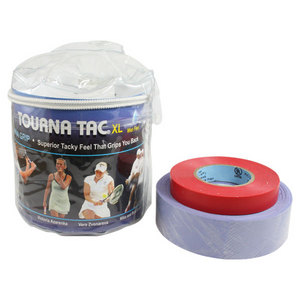 Tourna Tac 30 Grip Pack - XL Blue Vinyl Pouch