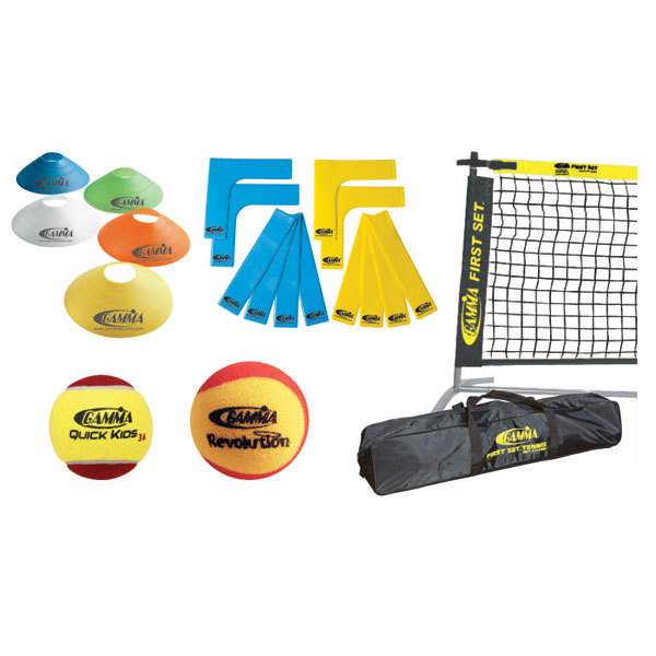 Gamma First Set 36 ` Tennis Court Kit