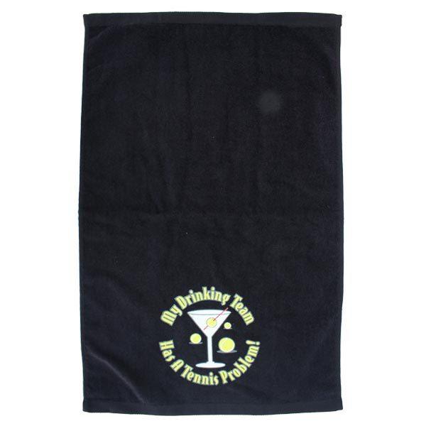 Loveall Martini Tennis Towel