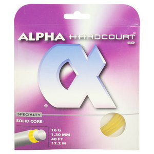 ALPHA HARDCOURT SG STRINGS 16G