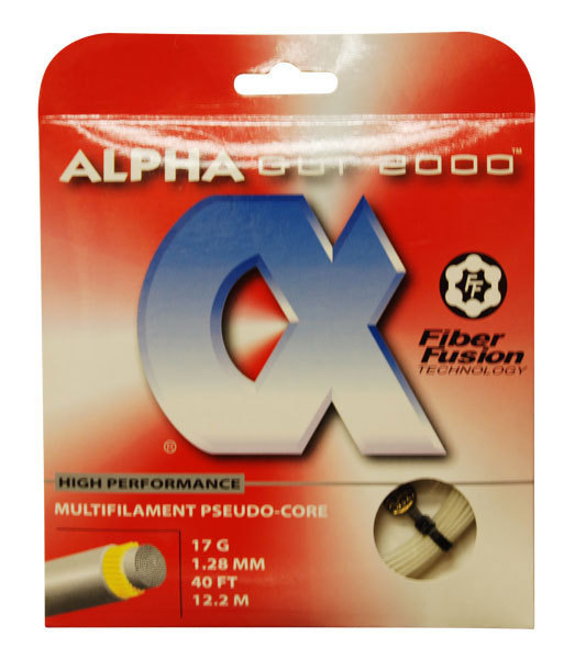 ALPHA Tennis String Hybrids might be for your game - Stringing Tips