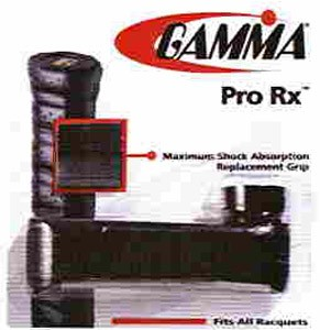GAMMA Pro Rx Black Replacement Grips
