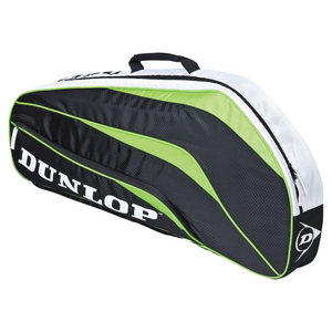 DUNLOP BIOMIMETIC 3 RAC GREEN THERMO TENNIS BAG
