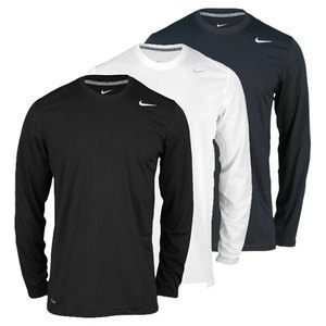 NIKE MENS LEGEND POLYESTER LS TENNIS TOP