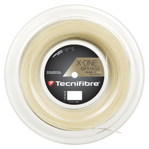 TECNIFIBRE X-ONE BIPHASE 16G TENNIS STRING REEL
