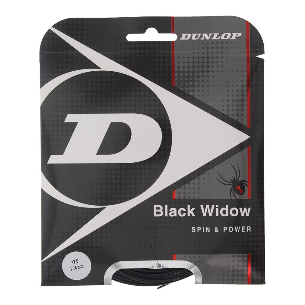Black Widow Spin And Durability Biomimetic 17g Tennis String