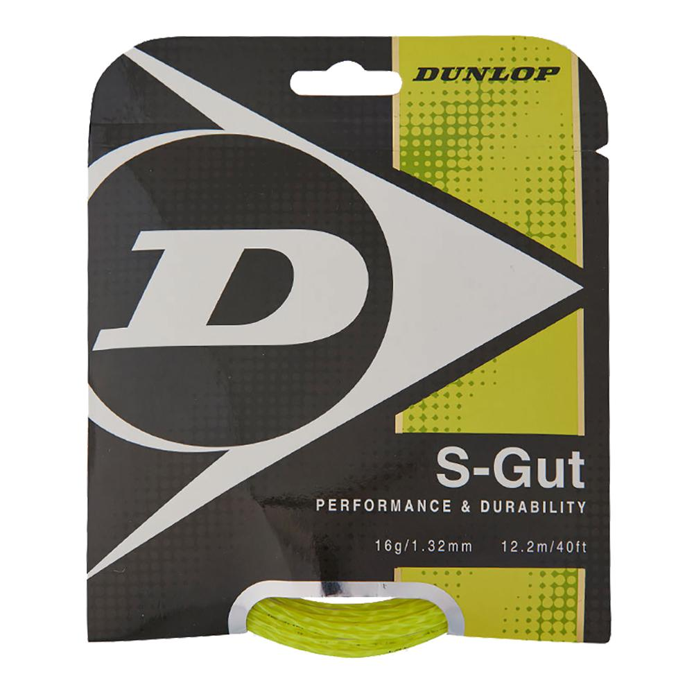 S- Gut 16g Yellow Tennis String