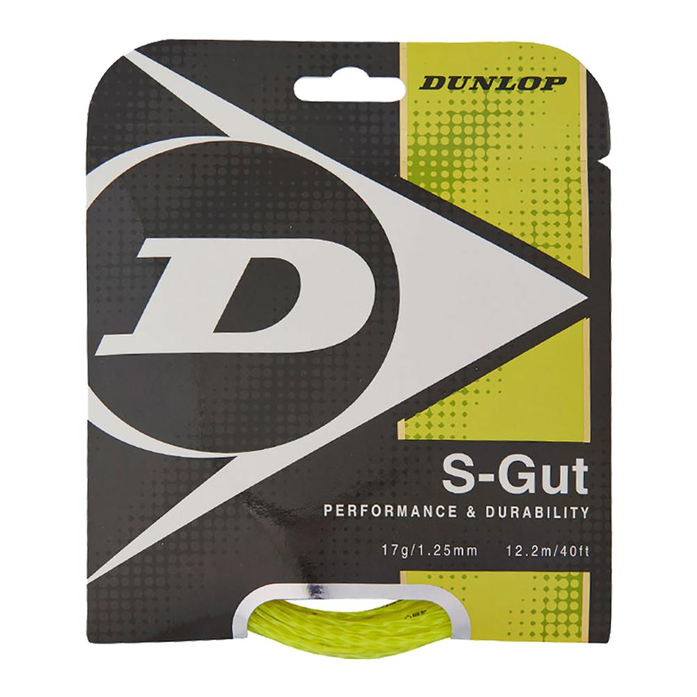 S- Gut 17g Yellow Tennis String