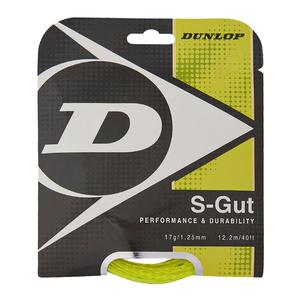 DUNLOP S-GUT BIOMIMETIC 17G YELLOW STRING
