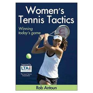 HUMAN KINETICS WOMENS TENNIS TACTICS BOOK