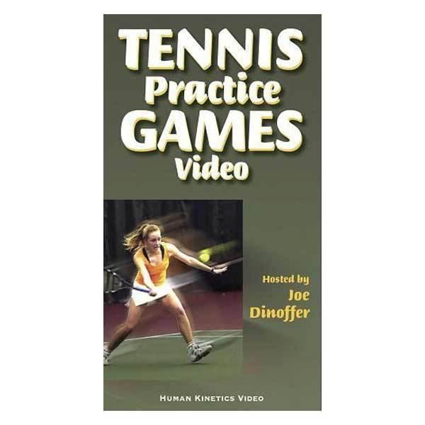 Tennis Practice Games Book