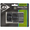 Gecko-Tac 3 Pack Black Tacky Tennis Overgrip by DUNLOP