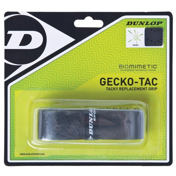 Gecko- Tac Black Tacky Replacement Tennis Grip