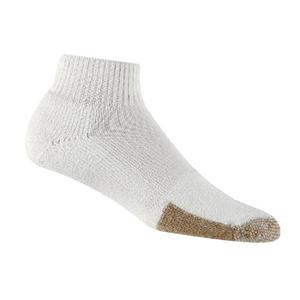 THORLO LEVEL 3 MINI-CREW WHITE TENNIS SOCKS