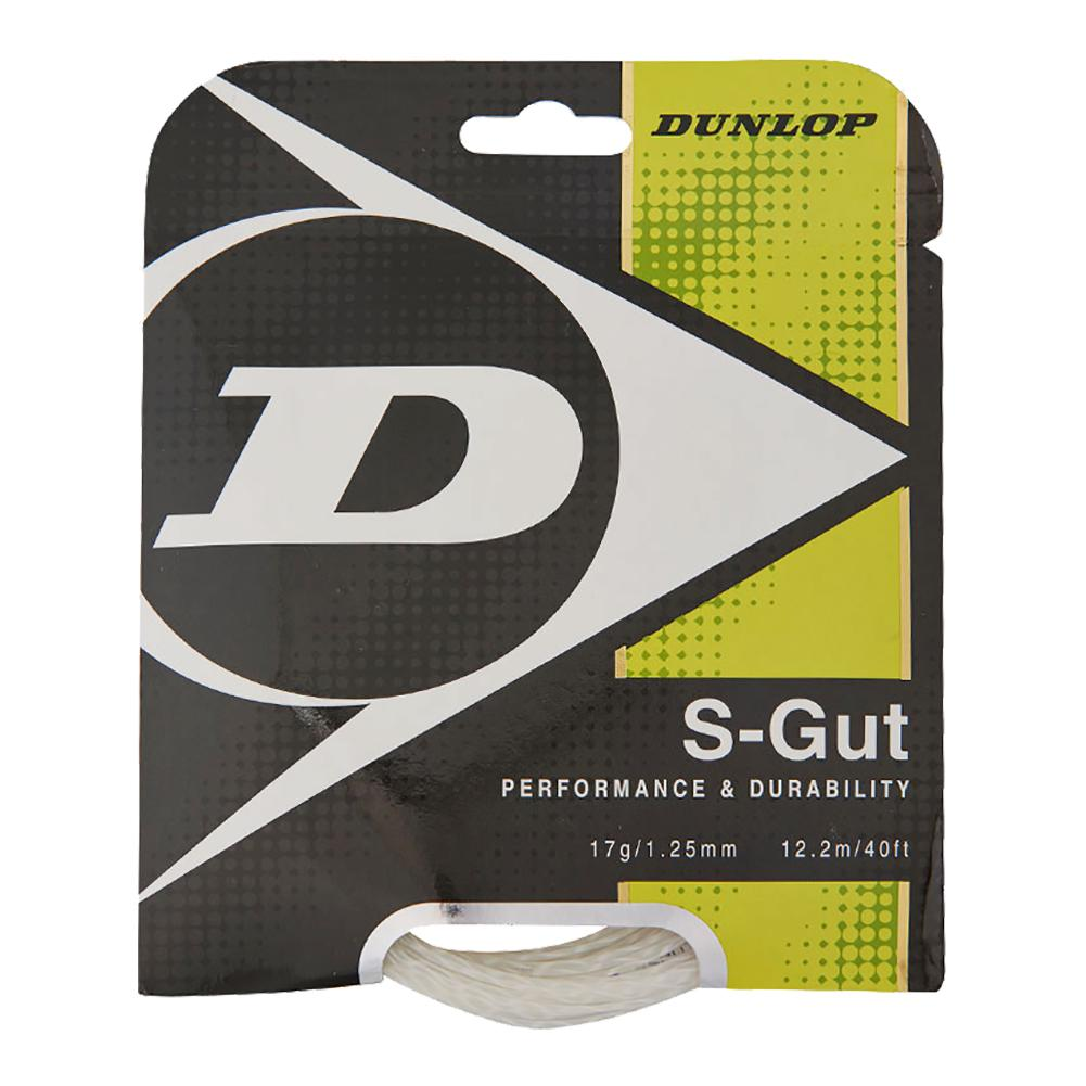 S- Gut 17g White Tennis String