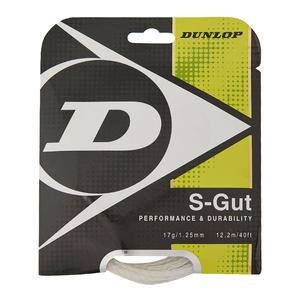 S-Gut 17G White Tennis String