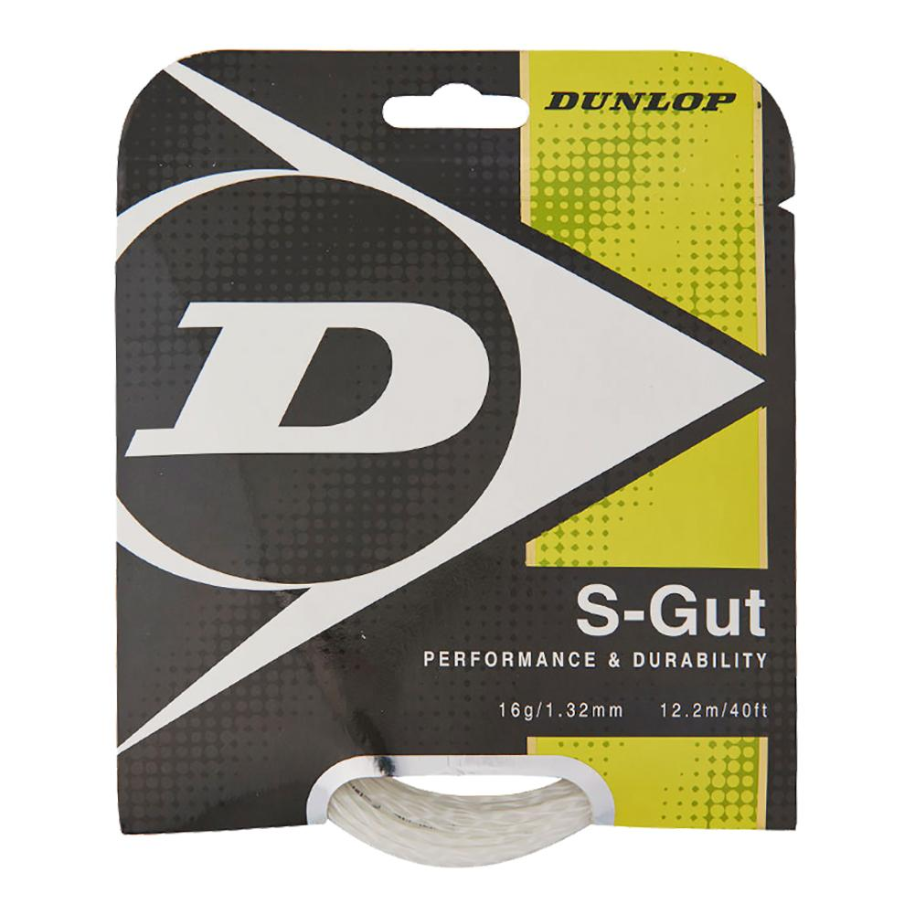 S- Gut 16g White Tennis String