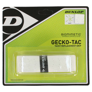 DUNLOP GECKO-TAC WHITE TACKY REPLACEMENT GRIP