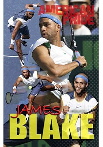 TENNIS LIFE MAGAZINE JAMES BLAKE POSTER