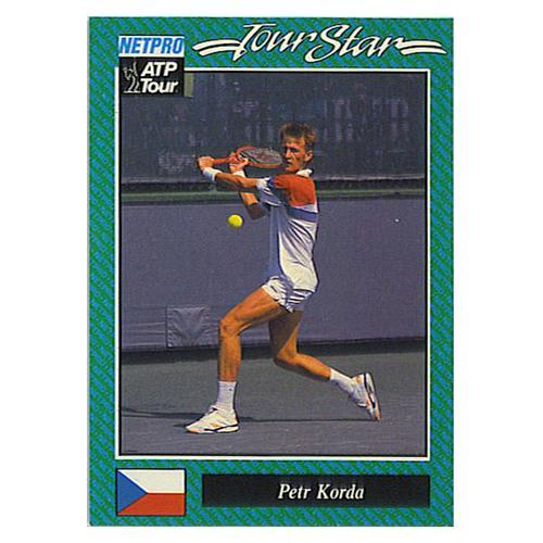 Petr Korda Prototype Card 1992