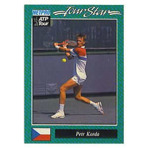 NETPRO Petr Korda Prototype Card 1992