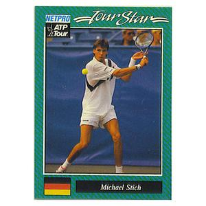 NETPRO Michael Stich Prototype Card 1992