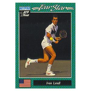 NETPRO Ivan Lendl Prototype Card 1992