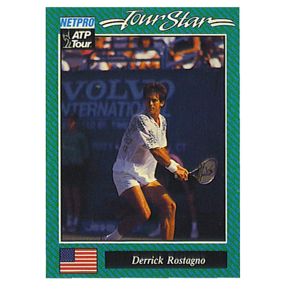 Derrick Rostagno Prototype Card 1992